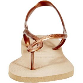 havaianas Luna Sandals Women rose gold/rose gold
